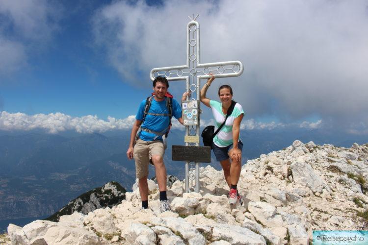 Gipfel von Monte Baldo am Gardasee
