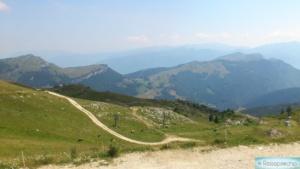 Der Monte Baldo am Gardasee