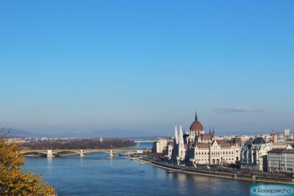 Das Parlament und die Margareteninsel - Budapest Reisetipps