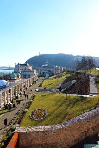 Park am Burgberg in Budapest