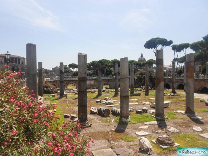 Antike Ausgrabungen in Rom