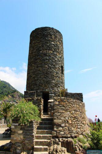 Der Turm von Vernazza