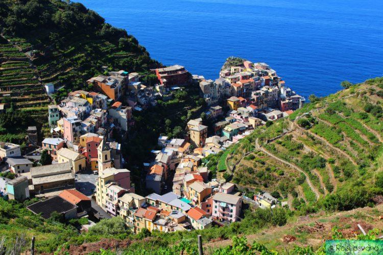 Manarola ist das vierte Dorf der Cinque Terre