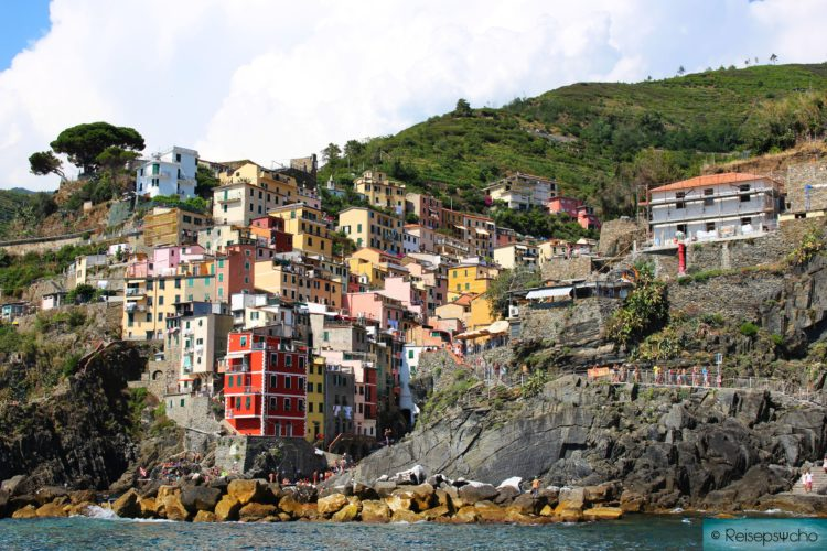 Riomaggiore in den Cinque Terre