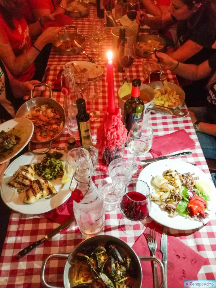 Abendessen Trastevere Rom