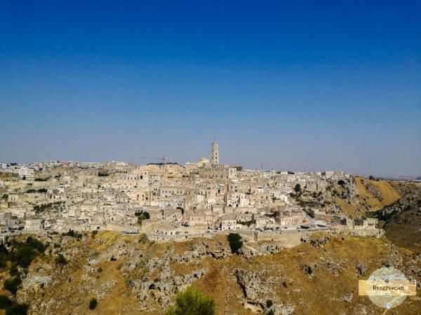 Ausblick auf Matera