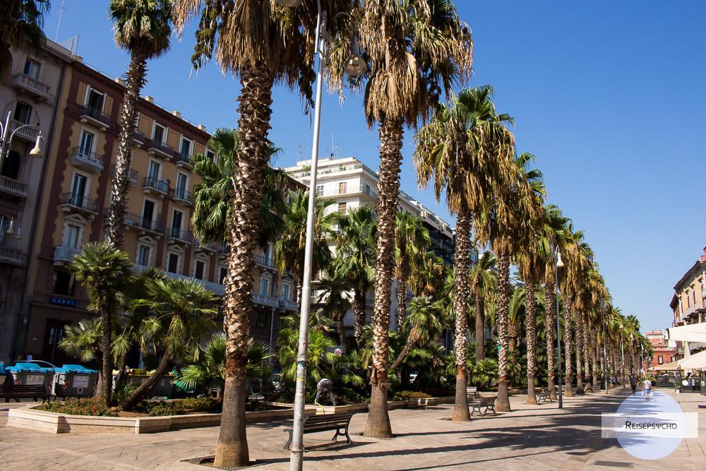 Der Corso Vittorio Emanuele in Bari