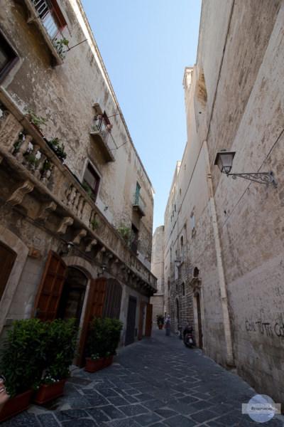 Gasse in der Altstadt Bari