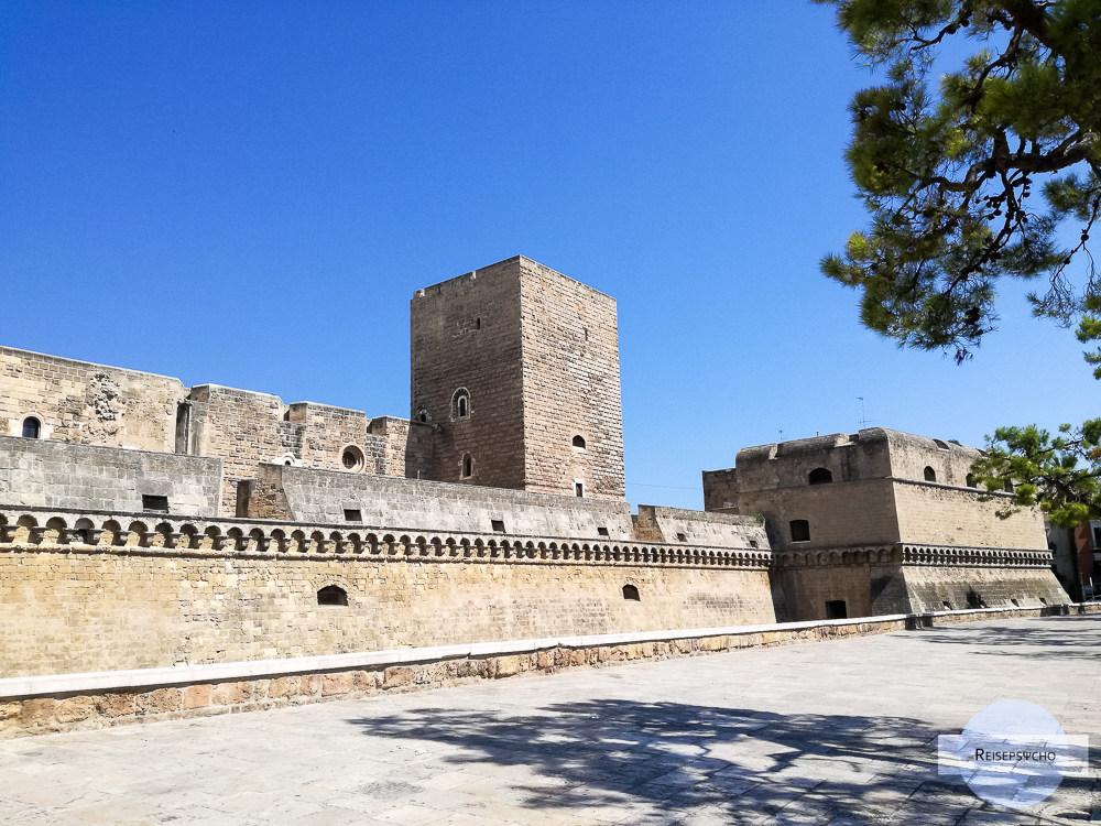 Das Castello Normanno-Svevo in Bari