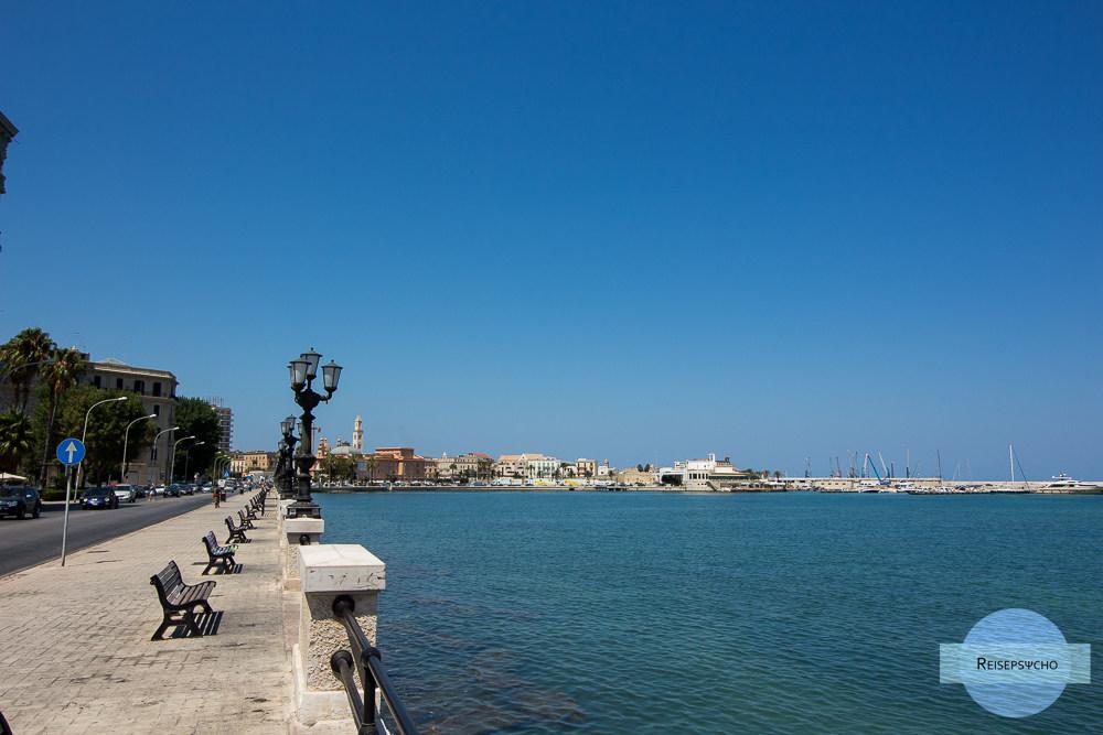 Apulien zwischen Bari und Monopoli | Strände und Sehenswürdigkeiten