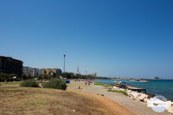 Der Stadtstrand 'Pane e Pomodoro' in Bari