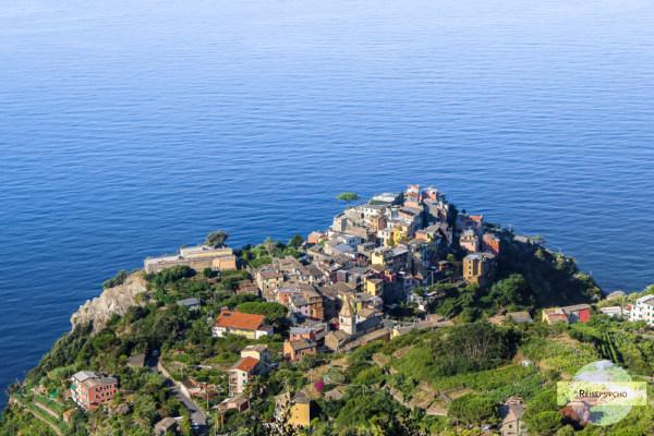 Corniglia ist eine der schönsten Städte in Italien