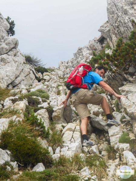 Klettern am Monte Baldo