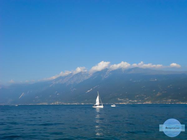 Segelschiff am Gardasee