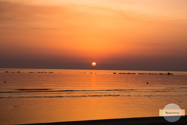 Sonnenaufgang am Meer - so geht Leben