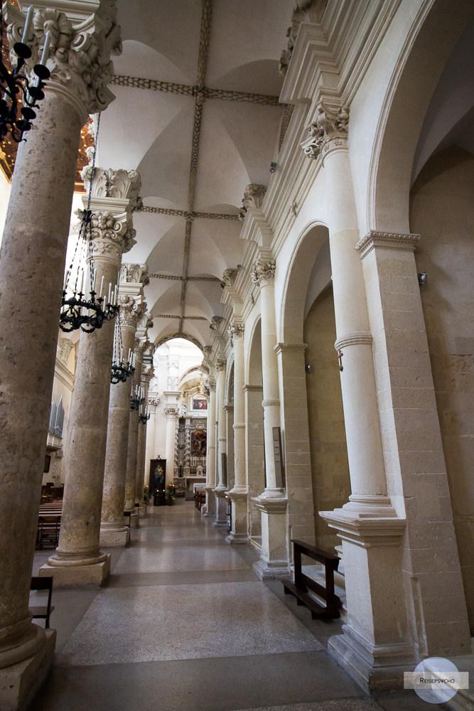 Säulen in Lecce
