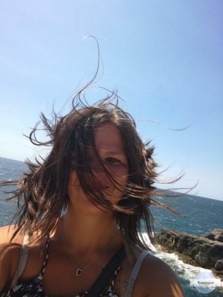 Haare im Wind - Fotos, die für den Blog nicht geeignet sind