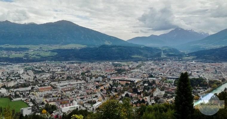 Innsbruck von oben – Dachterrassen und Berge