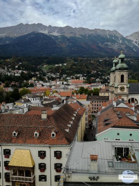 Stadtturm Innsbruck Aussicht