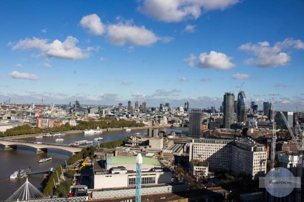 London von oben aus dem London Eye