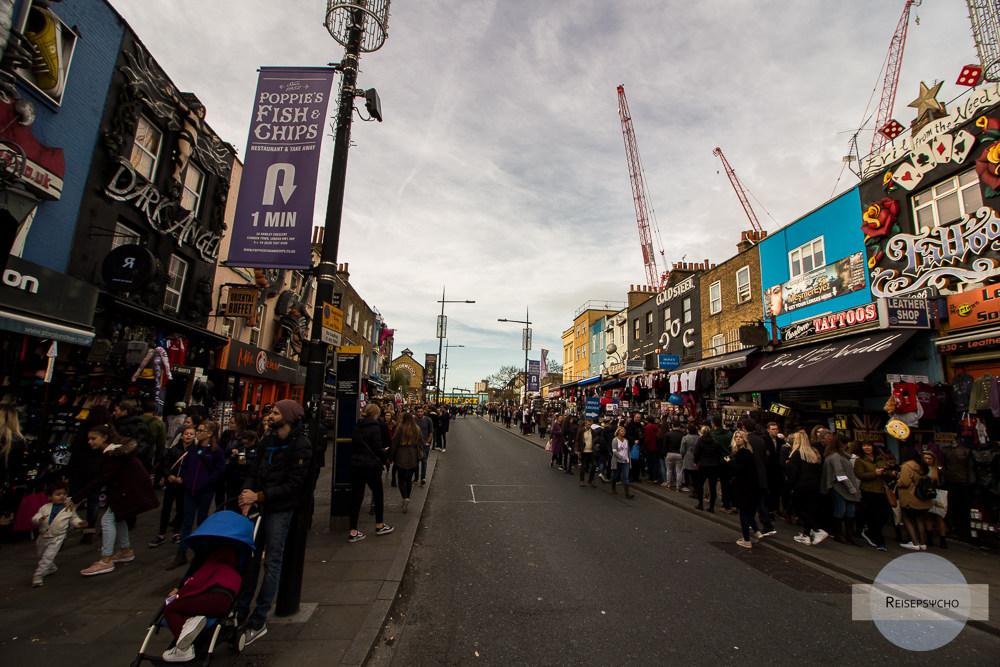 Camden Street in London