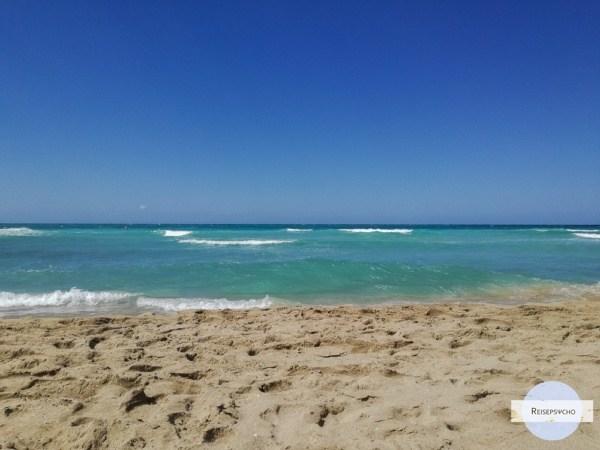 ionisches Meer in Apulien Salento