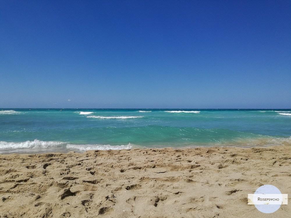 ionisches Meer Wasser
