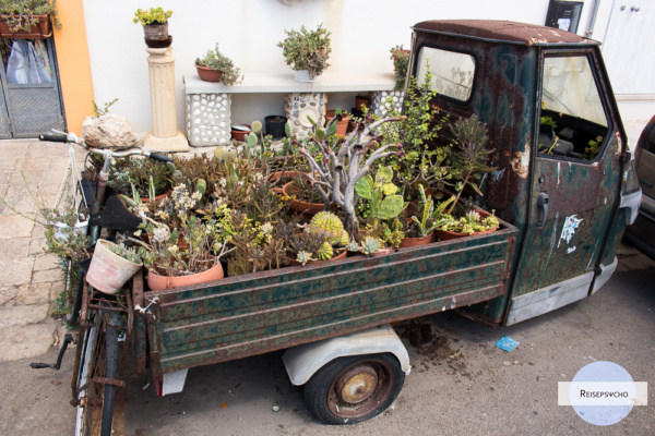 Gallipoli Lastwagen