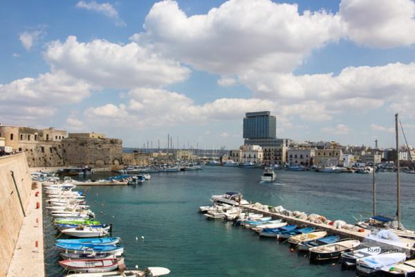 Gallipoli Alt und Neu