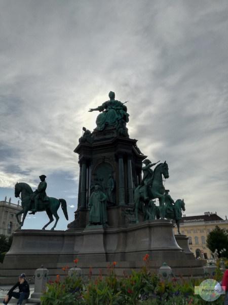 Statue Maria Theresia Wien