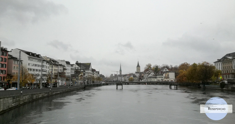 Zürich im Regen – einen Tag durch die Stadt