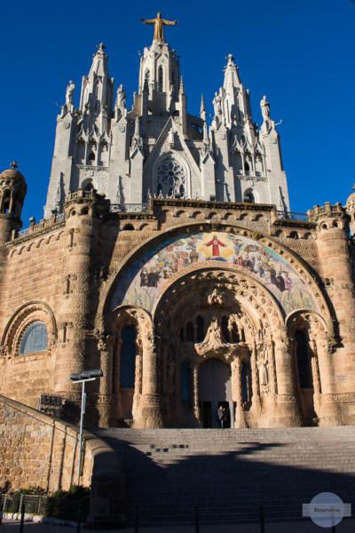 Am Tibidabo in Barcelona