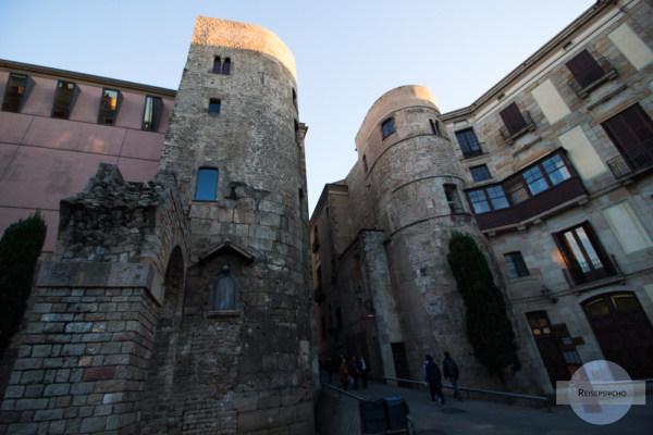 Barri Gotic in Barcelona