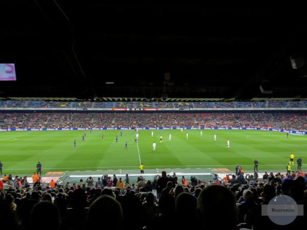 Matchbesuch beim FC Barcelona im Camp Nou