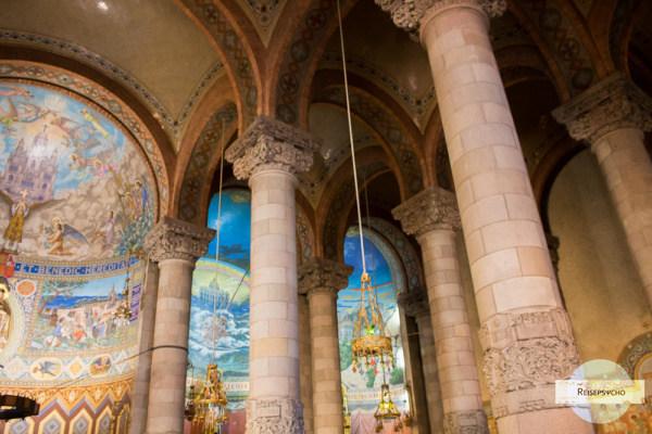 Die Krypta der Kirche am Tibidabo