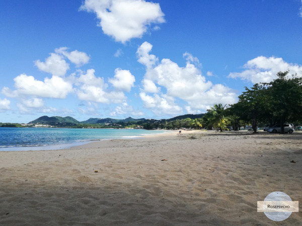Strand in St. Lucia