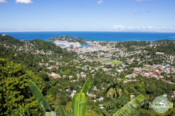 Castries auf St. Lucia