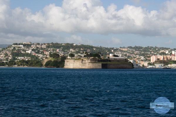 Fort-de-France auf Martinique