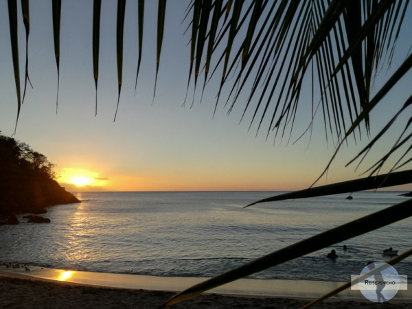 Sonnenuntergang in Guadeloupe