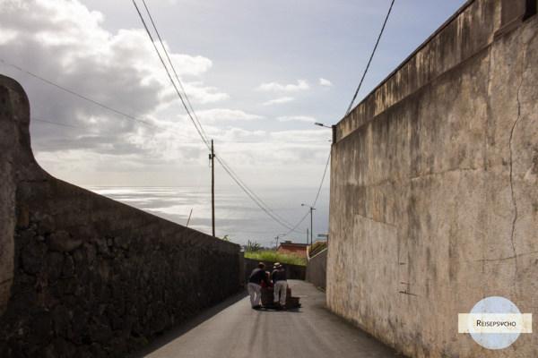 Die Korbschlitten von Funchal