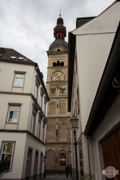 Turm der Liebfrauenkirche in Koblenz