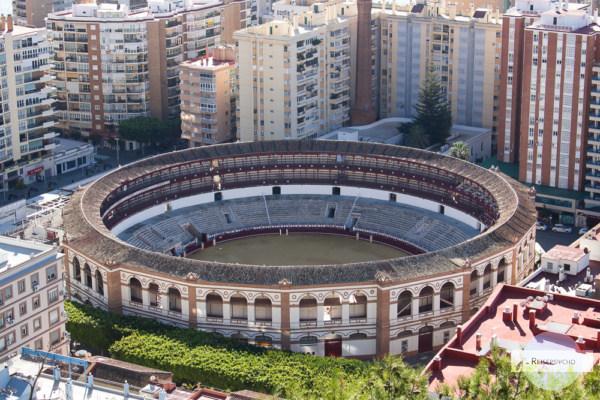 Stierkampfarena in Malaga