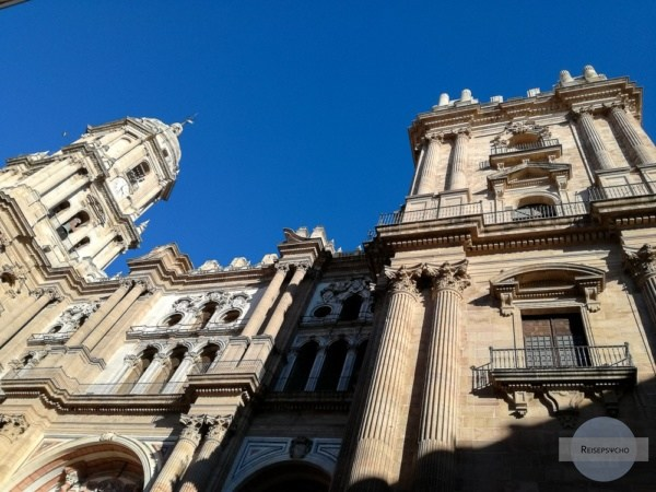 fehlender Turm an der Kathedrale in Malaga