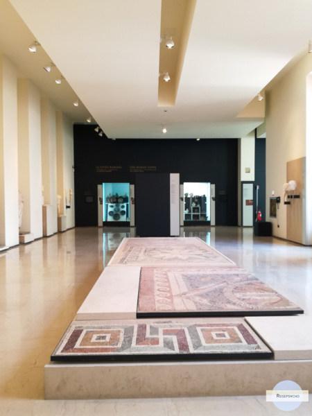 Raum im Archäologiemuseum in Tarent