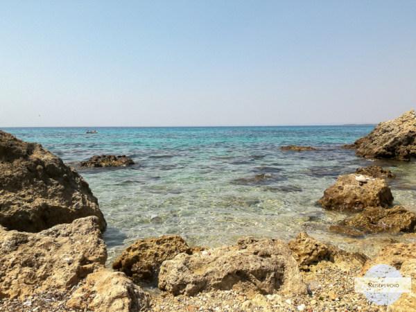 Felsenbucht in Taranto