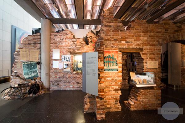 Die Dauerausstellung im Haus der Geschichte in Bonn beginnt mit Ende des zweiten Weltkriegs