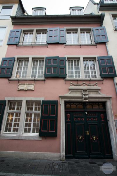 Das Beethoven-Haus in der Bonnstraße - Beethovens Geburtshaus