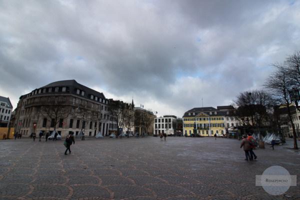 Der Münsterplatz in Bonn - einer Stadt mit vielen historischen Museen
