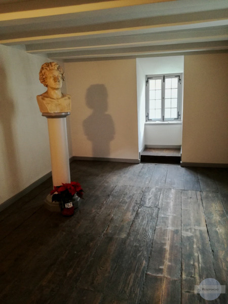 Das Zimmer in Bonn, in dem Beethoven geboren wurde