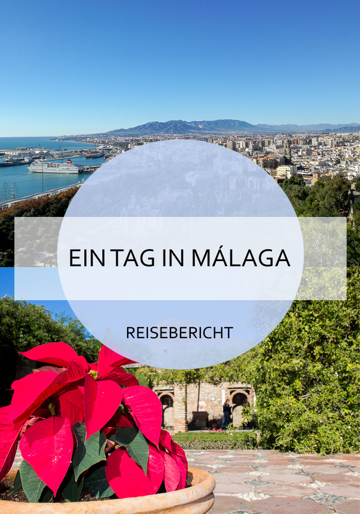 Was du an einem Tag alles in Málaga unternehmen kannst, liest du hier! Die wunderschöne Stadt in Andalusien bietet für Tagesgäste viele Möglichkeiten und ist reich an Sehenswürdigkeiten. #malaga #andalusien #aneinemtag #eintag #tagesausflug #städtetrip #stadtammeer #reise #travel #reiseblogger #reisebericht #spanien #mittelmeer